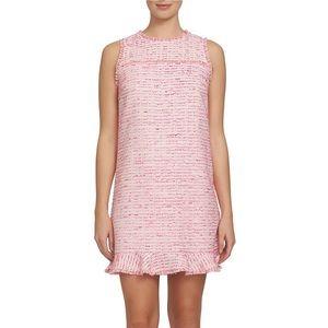 CeCe Dresses | Pink tweed mini-dress